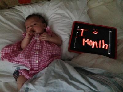 Baby Mia_1 month